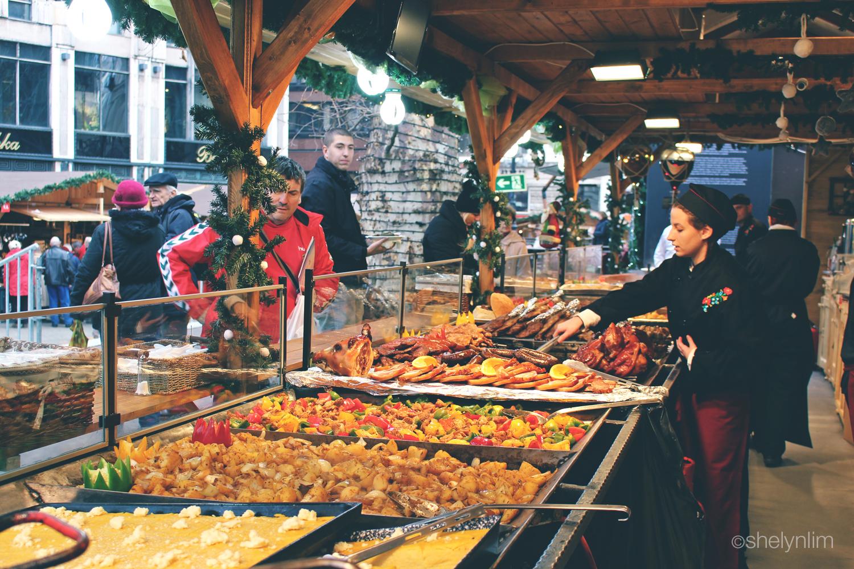 Vorosmarty Square Budapest Christmas Market.7 Must Eats At Budapest Christmas Markets Shelyn