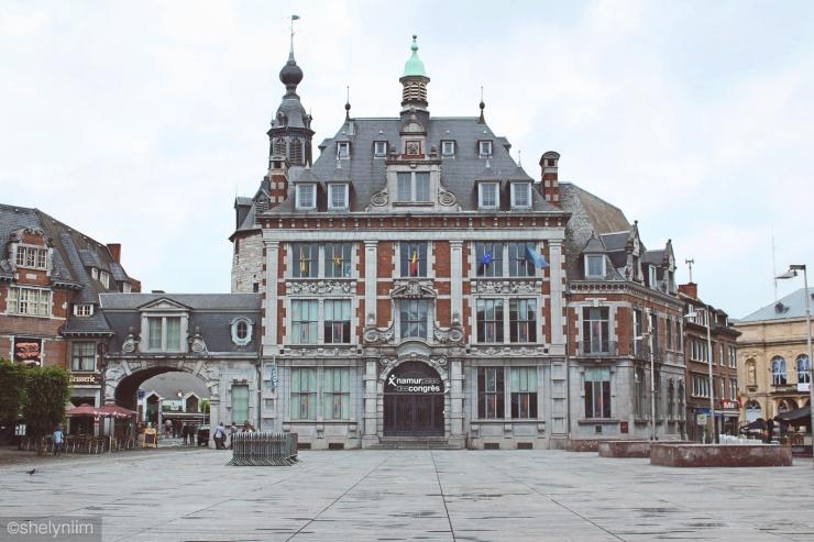 Central square, Place d'Armes