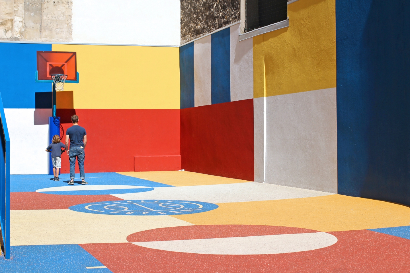 Pigalle Duperre Basketball Court